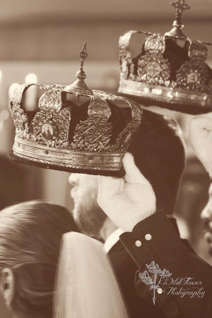 Russian Orthodox wedding - crowning