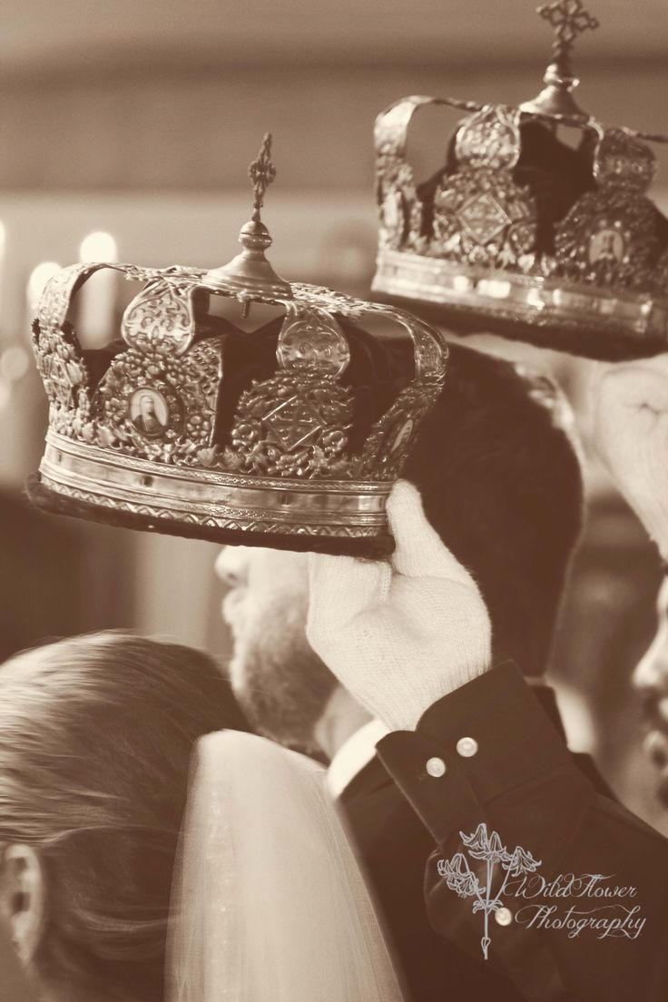 Russian Orthodox wedding - crowning