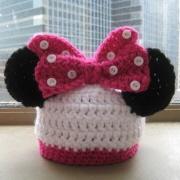 Hundreds of free crochet patternsMouse Hats, Animal Hats, Crochet Baby Hats, Crochet Hats, Minis Mouse, Minnie Mouse, Hat Patterns, Hats Pattern, Crochet Pattern