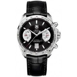 Best TAG Heuer Grand Carrera Calibre 17 RS Automatic Chronograph 43 mm Watch CAV511A.FC6225