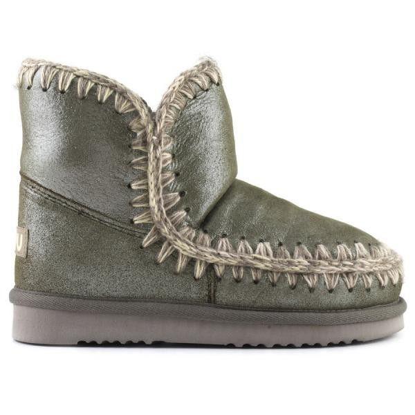 Mou eskimo 18 Forest Golden Glitter - MOU #mou #eskimo #snerker #shoes #fashion