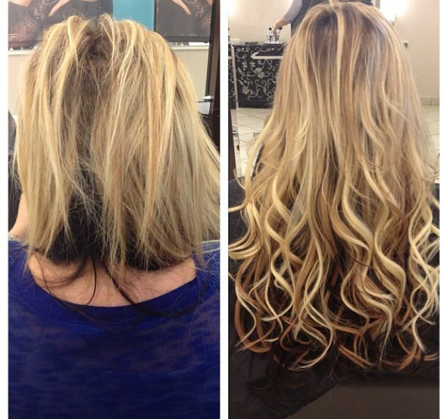 278 Best Images About Before & After Hair Extensions On