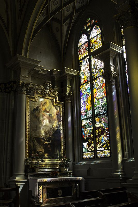 Lady Chapel in Fribourg Cathedral
