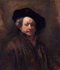 Rembrandt, auto-retrato (1660)