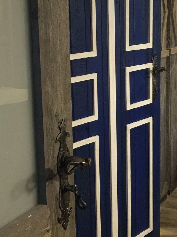 Porte en vieux bois/ Drzwi ze starego drewna