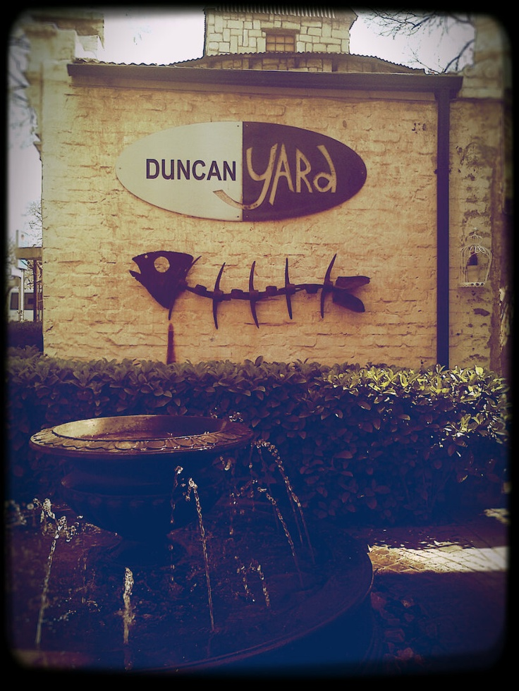 Duncan Yard, Pretoria, South Africa  A house converted into a restaurant and a deli with small boutique selling decor and handmade products