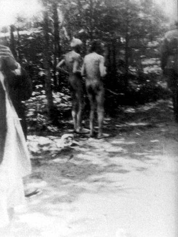 Rzeszow, Poland, July 1942, Execution of Jews in the Glogowski forest.