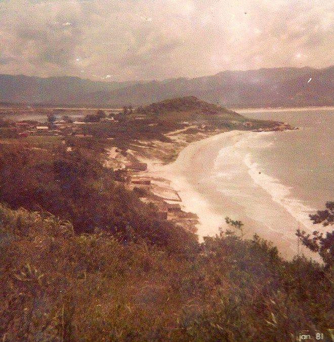 Praia de Cima - Pinheira - Janeiro de 1981