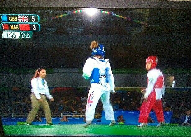 GB Jade Jones reining Olympic champion from 2012.. Taekwondo .  *A*