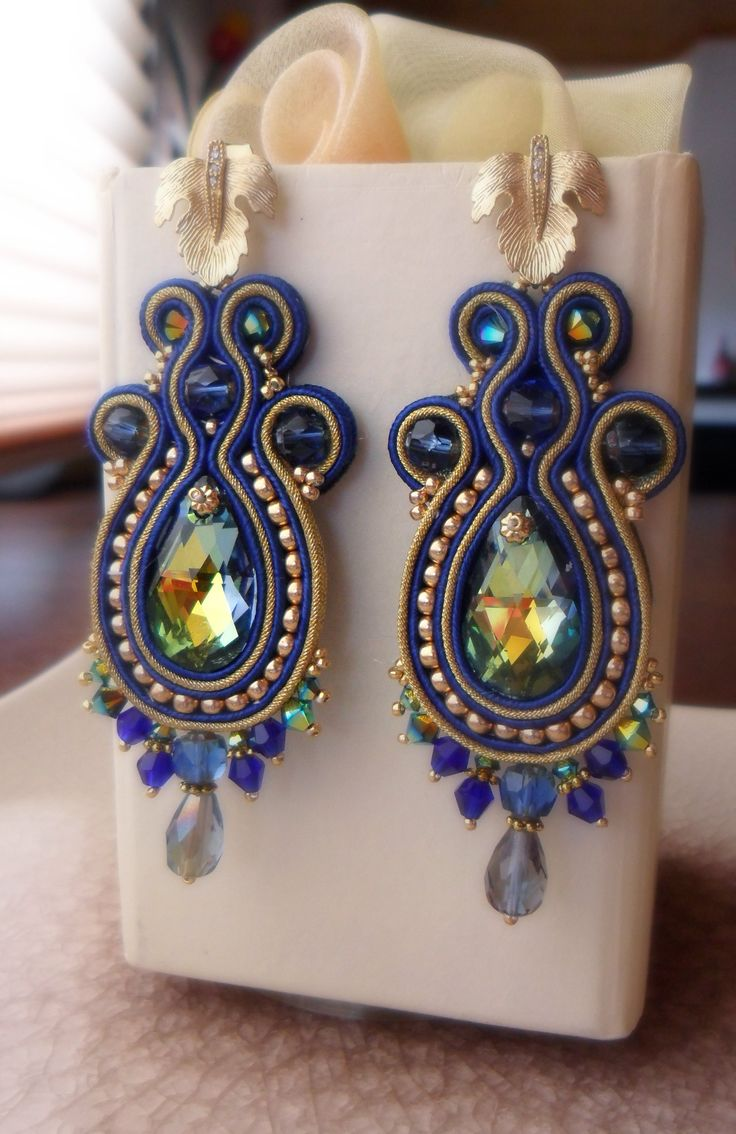 Soutache Creation by Serena Di Mercione