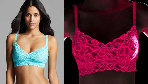 This summer Glow from inside out in fluorescent bras and panties