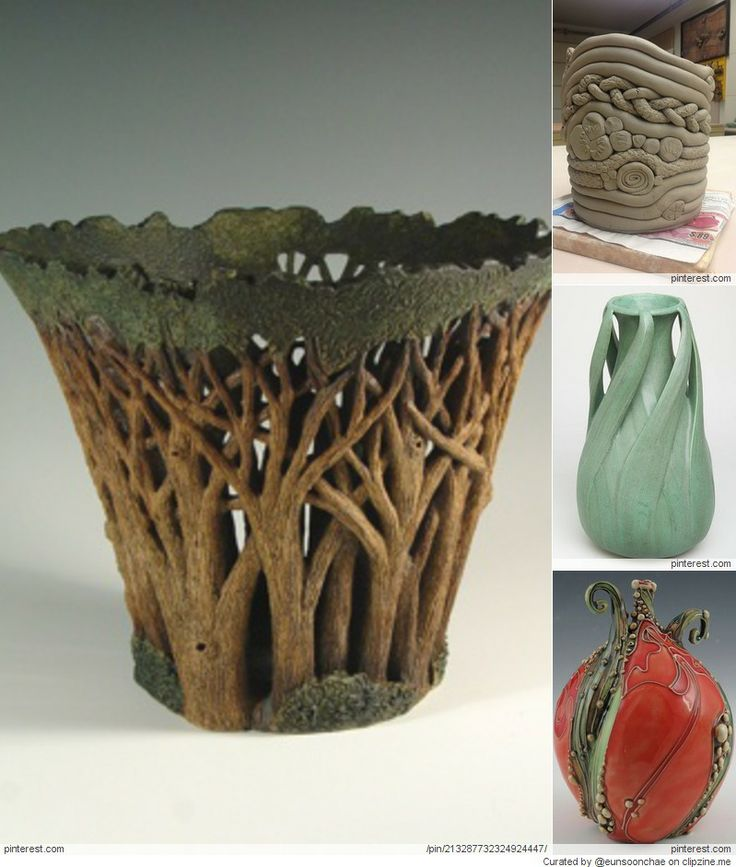 Pottery ideas pottery ceramic work pinterest for Clay making ideas