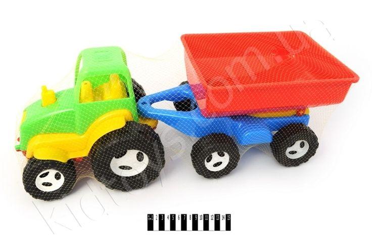 """Трактор з причепом """"КВ, немецкие игрушки, hasbro игрушки, детские онлайн, деревянные игрушки оптом, товары из китая интернет магазин, бесплатные игры для девочек"""