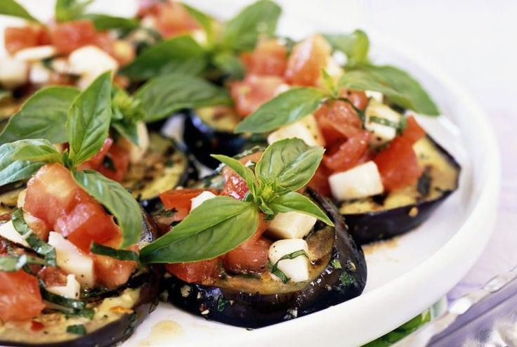 Try This Recipe for Spanish Grilled Eggplant with Tomato Vinaigrette