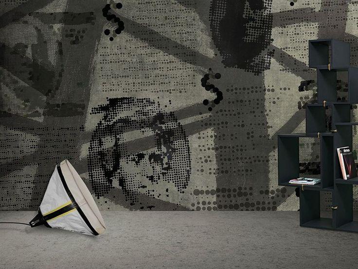Carta da parati lavabile in vinile ONE by N.O.W. Edizioni