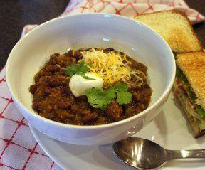 Wendys Restaurant Chili Recipe