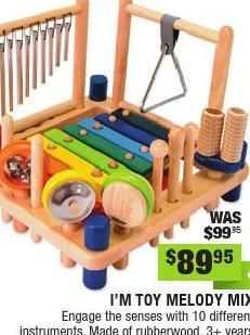 My 3yo is turning out to be quite the musical little boy. He loves to make music from all sorts of objects and to sing! This multi-instrument toy would really encourage his creativity and looks like a whole lot of fun! #entropywishlist #pintowin #ClippedOnIssuu from Entropy Christmas Catalogue 2014
