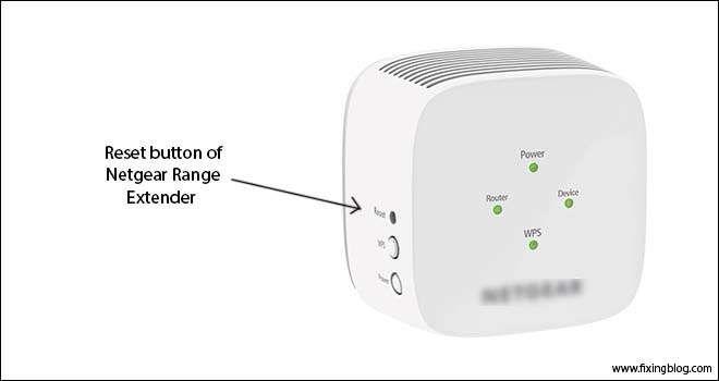 Reset Netgear Extender In 2020 Reset Button Netgear Reset