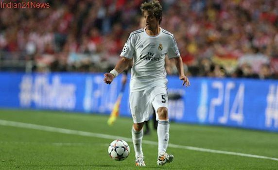 Real Madrid defender Fabio Coentrao joins Sporting Lisbon on loan