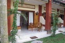 B ABD b RESORT air con spa balcony Taman saraswatinresort  UBUD,,Terrace/Patio