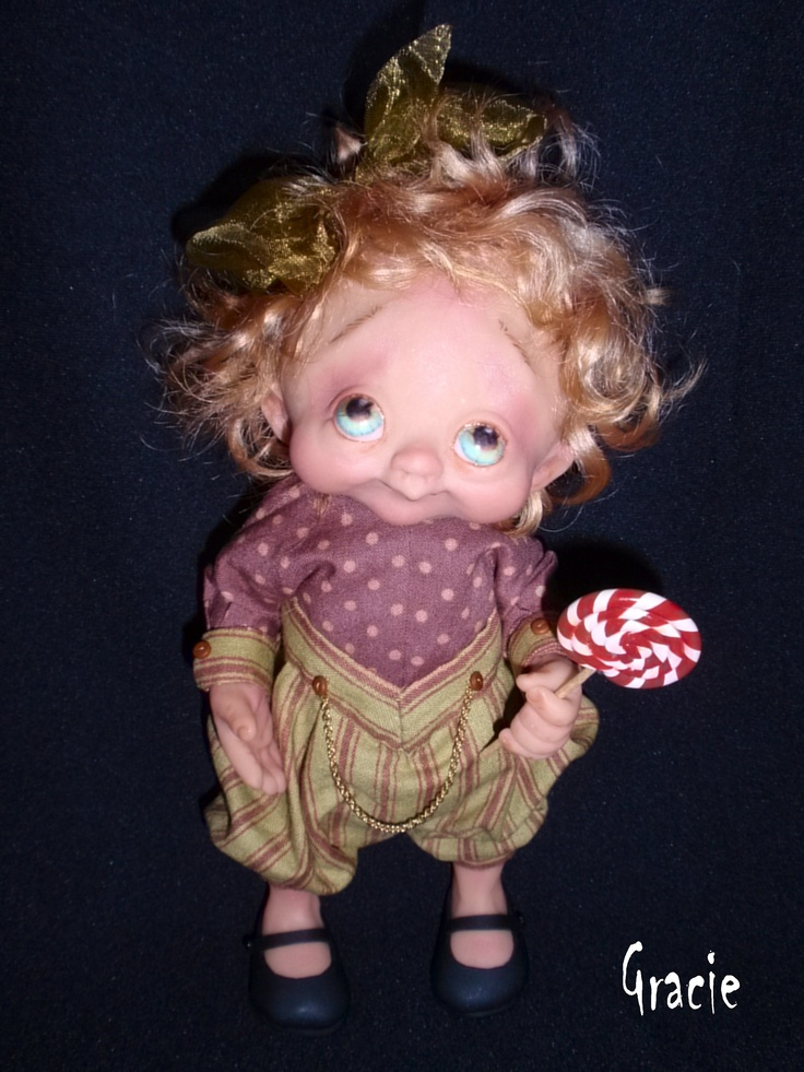 Another weird doll with my name...Gracie by Denise Bledsoe