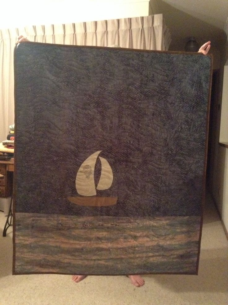 Back of quilt for Coral and David