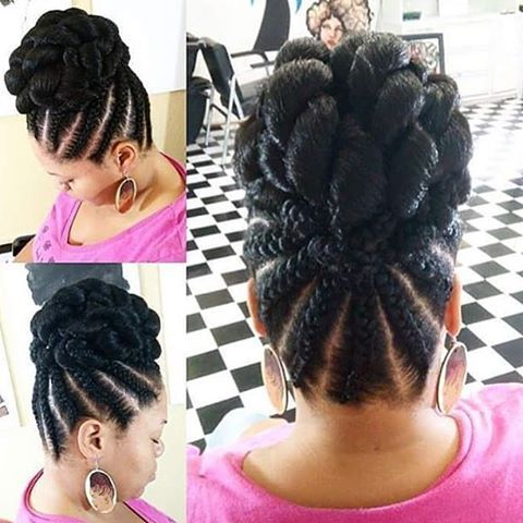 type4naturals:   Really cute #protectivestyle.... / Black Hair