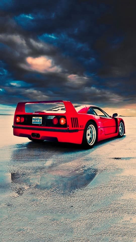 151 High Quality Iphone Wallpapers وっ っ Ferrari F40 Car
