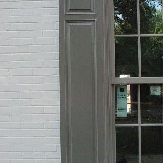 Bm Revere Pewter Painted Brick Marvin Windows Pebble Gray Cladding Pratt Lambert Dansbury Cottage Exterior Colorterior