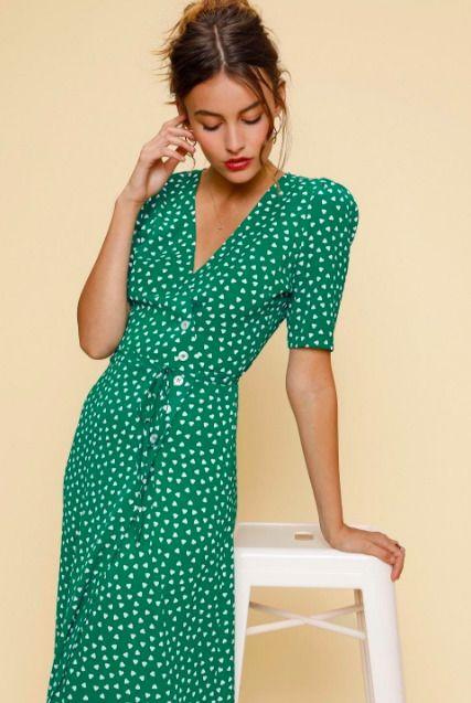 ef1cec64e0eed ROUJE Paris Gabin Wrap Dress Size EU 34 UK 6 SOLD OUT #fashion ...