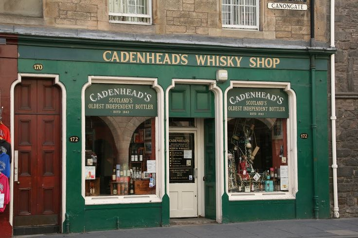 Cadenheads Whisky Emporium, Canongate, Royal Mile, Edinburgh.   Forget everything else - THIS is where you should buy whisky.