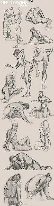 anatomi-human-model-karakalem-çizimleri-z
