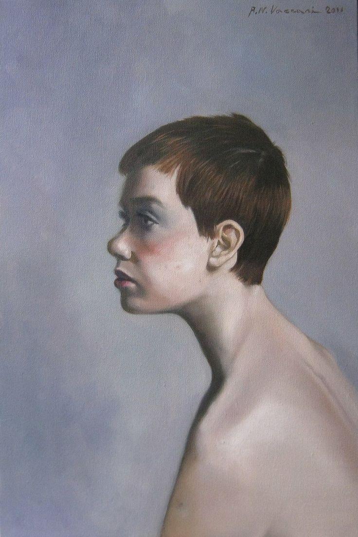 La ragazza dai capelli rossi by vernice61.deviantart.com on @deviantART