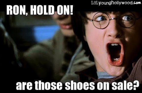 can't pass a shoe sale!