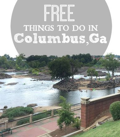 We spent a weekend in Columbus recently- I had no clue how much there was to do in this expanding city. With the advent of the RiverWalk and WhiteWater Express, the city has seen a change. I can't wait to go back! If you should find yourself in this urban oasis, here are 13+ FREE  things to do in Columbus, Ga.