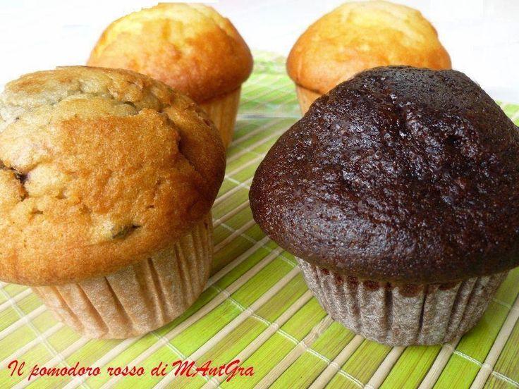 Muffins. #ricetta di @ilpomodororosso