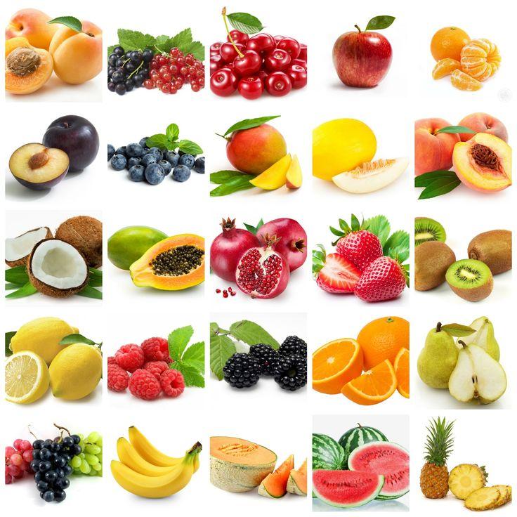 krásné obrázky ovoce k vytisknutí