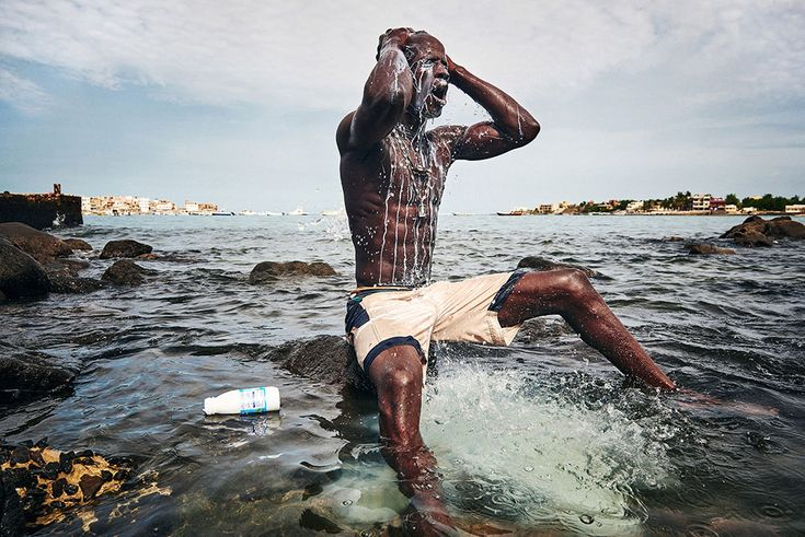 © Christian Bobst, The Gris-gris Wrestlers of Senegal