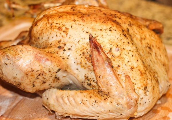 how to steam cook a turkey crown