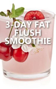 Dr Oz and Dr Mark Hyman shared a 3-Day Fat Flush shopping list, along with recipes that can help you recalibrate your body to burn fat instead of storing.