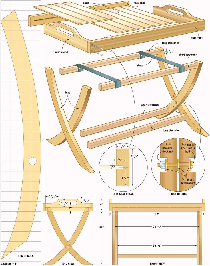 Project Table Woodworking Plans