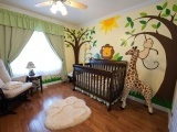 zoo nursery, perfect for boy and girl!!
