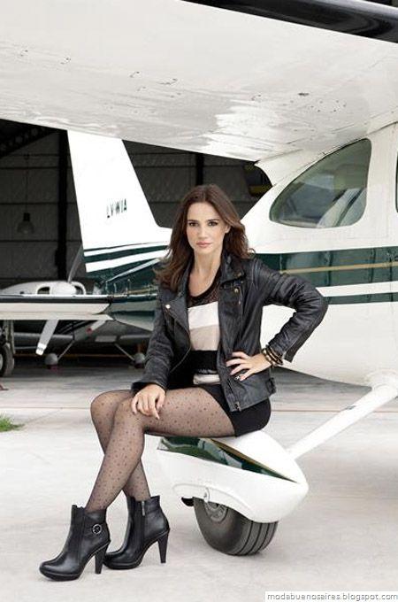 Moda y Tendencias en Buenos Aires : LADY STORK OTOÑO INVIERNO 2012: Campaña con Celeste Cid