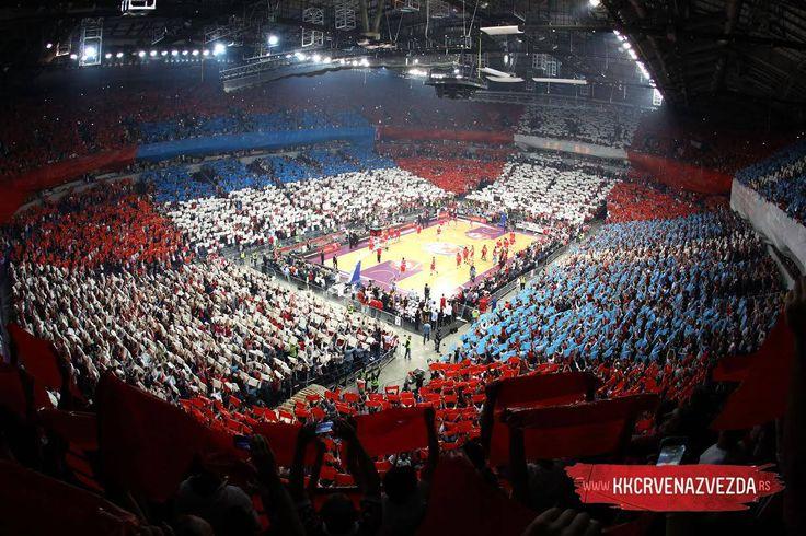 Kk Crvena Zvezda Belgrade vs Olympiacos (Gr) Kombank Arena. Euroleague 2014 Brothers game.