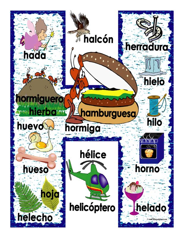 Binder Size Spanish - Bilingual Planet