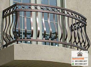 Jual Besi Dan Kayu: Jasa Pembuatan dan Pemasangan Railing Balkon Minim...