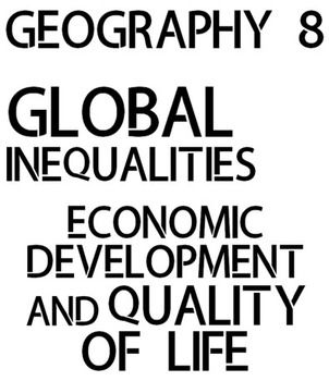 *NEW Ontario Curriculum* Grade 8 Geography Inquiry Unit -