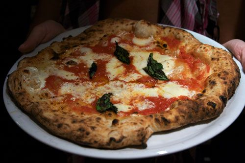Pizza! Just can't beat Neapolitan Margherita pizza--especially if you can make it at home!