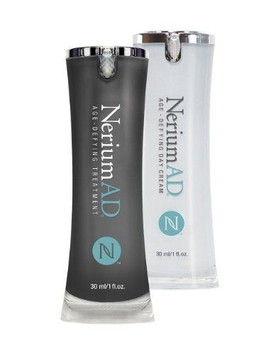 Nerium Ad Best Day & Night Cream Set Better Than Botox Reduces Fine Lines Discoloration Aging and Loose Skin, Reflect Your Youth Look Better Feel Better by Nerium International