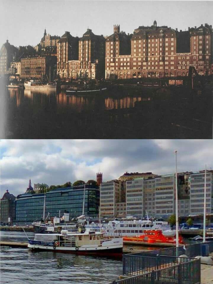 Var bara tvungen att klippa ihop dessa 2 bilder tidigare visade på sidan: Den övre från Martin Landhage /Foto: Gustav Cronqvist 1926 och den undre av Ola Sköld/ Bildkälla: Eniro/kartor.